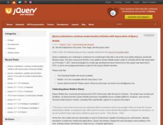 blog.jqueryui.com screenshot