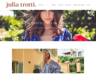 blog.juliatrotti.com screenshot
