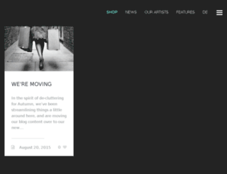 blog.juniqe.com screenshot