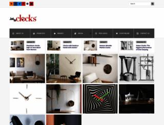 blog.justforclocks.com screenshot