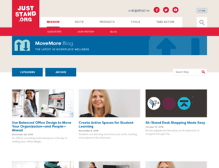 blog.juststand.org screenshot