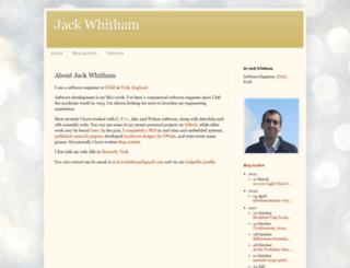 blog.jwhitham.org screenshot
