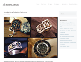 blog.ka-gold-jewelry.com screenshot