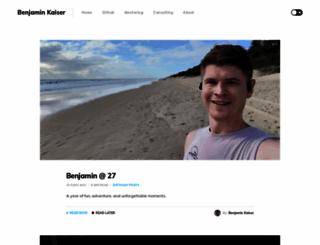 blog.kaiserapps.com screenshot