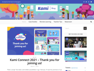 blog.kamihq.com screenshot