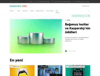 blog.kaspersky.com.tr screenshot