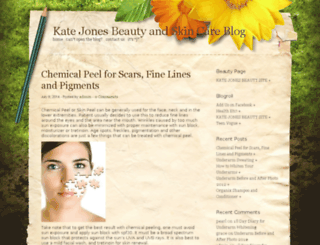 blog.kate-jones.com screenshot