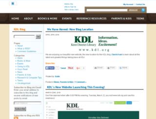blog.kdl.org screenshot
