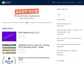 blog.keep-collective.com screenshot