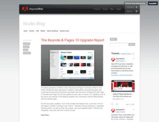 blog.keynotepro.com screenshot