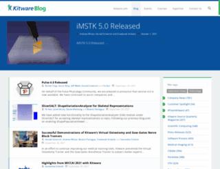 blog.kitware.com screenshot