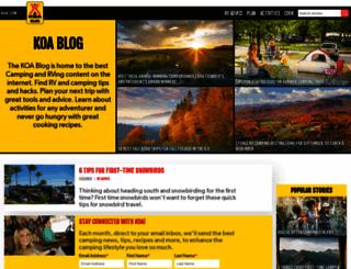 blog.koa.com screenshot