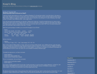 blog.koepi.info screenshot