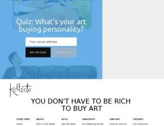 blog.kollecto.com screenshot