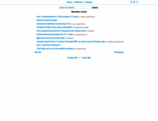 blog.kowalczyk.info screenshot