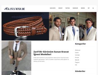 blog.kravatkolik.com screenshot