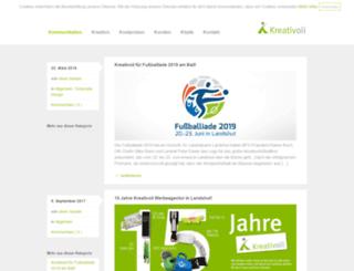 blog.kreativoli.de screenshot