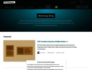 blog.kulturbanause.de screenshot