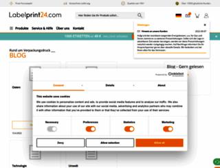 blog.labelprint24.com screenshot