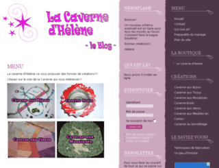 blog.lacavernedhelene.fr screenshot
