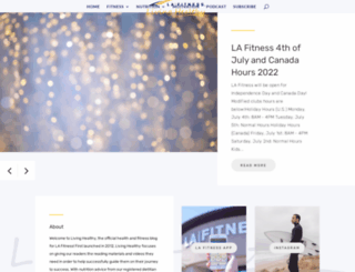 blog.lafitness.com screenshot