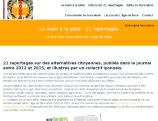 blog.lagedefaire-lejournal.fr screenshot