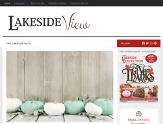 blog.lakeside.com screenshot