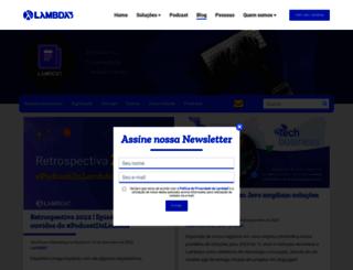blog.lambda3.com.br screenshot