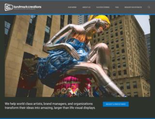 blog.landmarkcreations.com screenshot