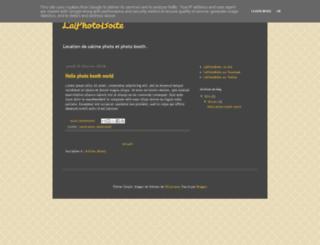 blog.laphotoboite.fr screenshot