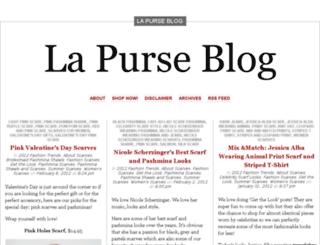 blog.lapurse.com screenshot