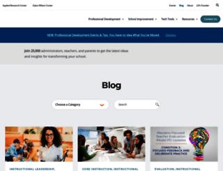 blog.learningsciences.com screenshot