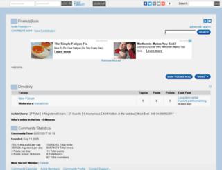 blog.lefora.com screenshot