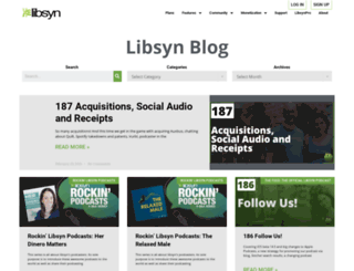 blog.libsyn.com screenshot