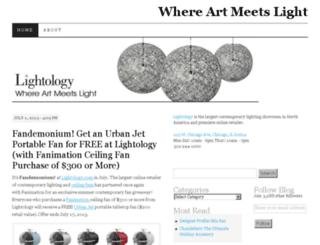 blog.lightology.com screenshot