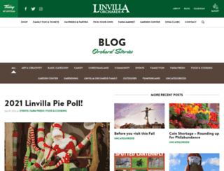 blog.linvilla.com screenshot