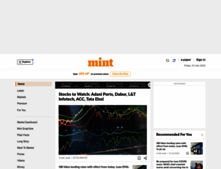 blog.livemint.com screenshot