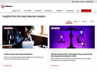 blog.loadbalancer.org screenshot