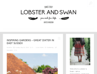 blog.lobsterandswan.com screenshot