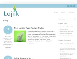 blog.lojiik.com screenshot