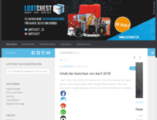 blog.lootchest.de screenshot