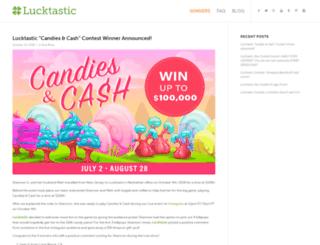 blog.lucktastic.com screenshot