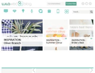 blog.lulawed.com screenshot