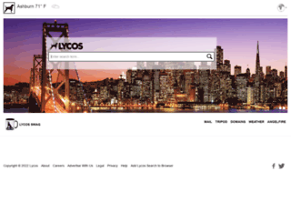 blog.lycos.de screenshot