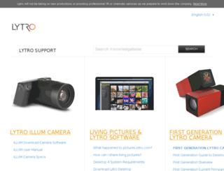 blog.lytro.com screenshot