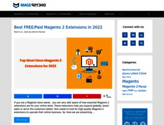blog.magepsycho.com screenshot