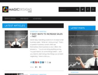 blog.magicdesigns.org screenshot