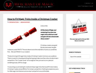 blog.magicshop.co.uk screenshot