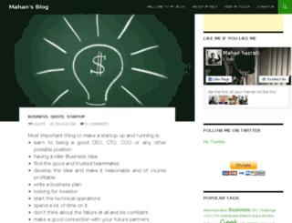 blog.mahanhazrati.com screenshot