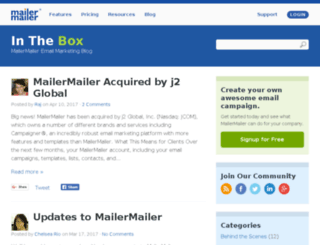 blog.mailermailer.com screenshot